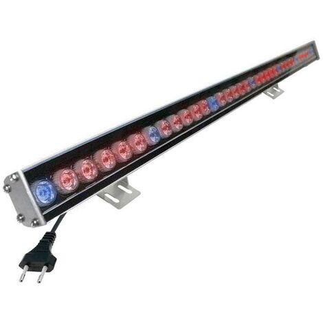 Proyector LED lineal, PLANT GROWTH, 24W, 220V, 1m, Crecimiento de plantas