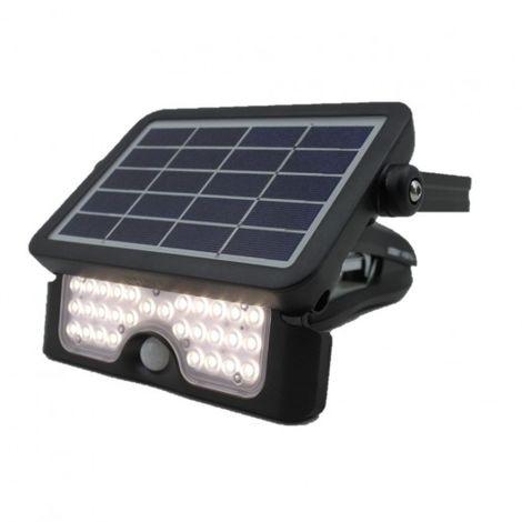 proyector LED solar con sensor de movimiento
