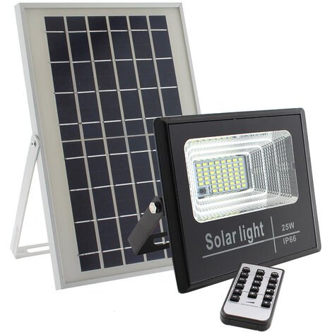 Proyector LED SOLAR DIGIT 25W, Blanco frío, regulable