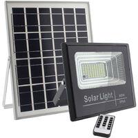 Proyector LED SOLAR DIGIT 40W, Blanco frío, Regulable