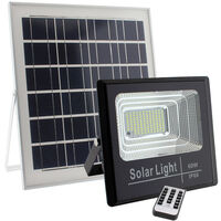 Proyector LED SOLAR DIGIT 60W, Blanco frío, Regulable