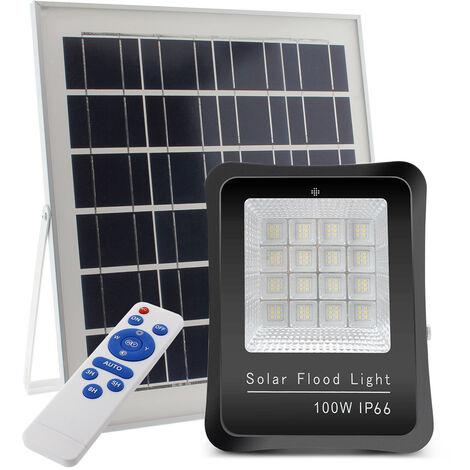 "main image of ""Proyector LED SOLAR KS 100W, Blanco frío - Blanco frío"""