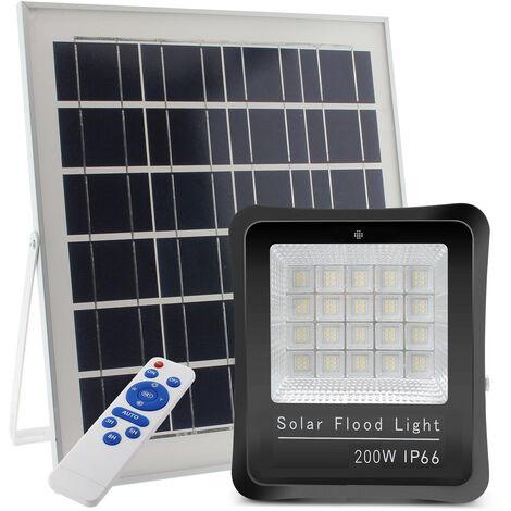 Proyector LED SOLAR KS 200W, Blanco frío - Blanco frío