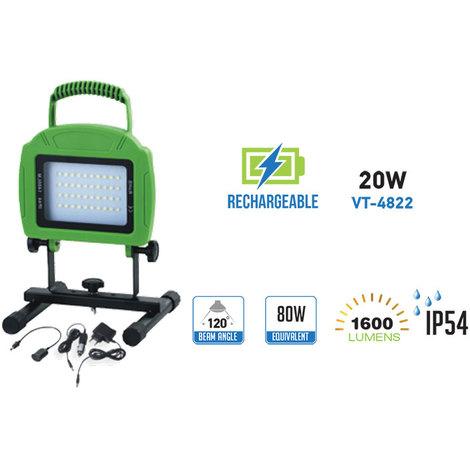 Proyector portátil premium recargable 20W 120°