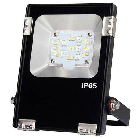 Proyector RGB+CCT Nichia Led, 10W, RF, RGB + Blanco dual, regulable