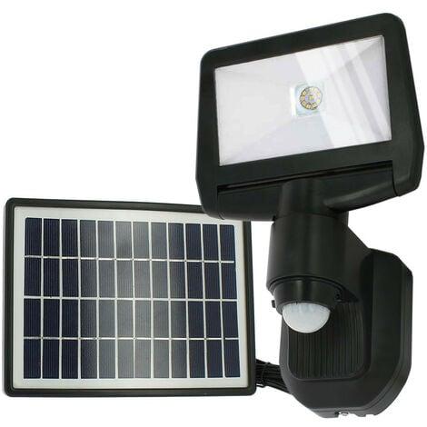 Proyector solar LED ESTEBAN con detección 850 Lumens Eq 70W