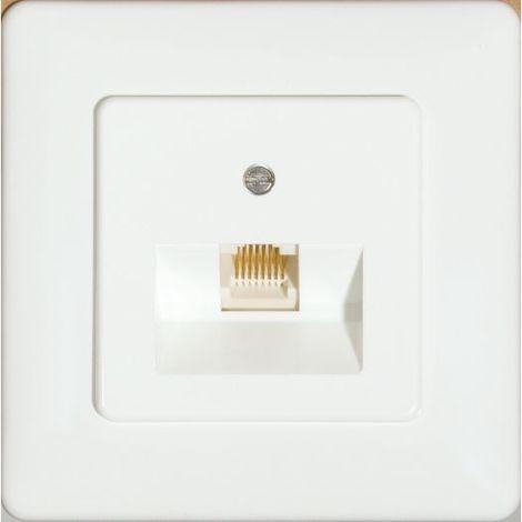 Prüwer UP-Modular-Anschlußdose 8-polig/8-polig beschaltet
