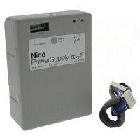 PS124 NICE AUTOMAZIONE CANCELLO Batteria 24V con caricabatterie integrato