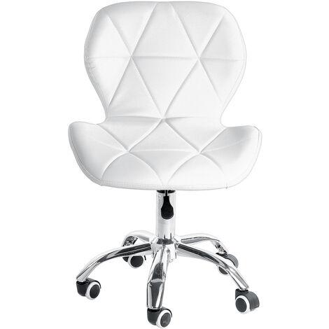 "main image of ""PU Leather Barstools Adjustable w/ Wheels H(72-84)cm"""
