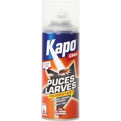 Puces et larves propulseur Kapo Choc - Aérosol 200 ml
