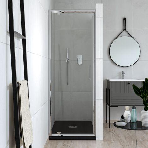 Puerta batiente batiente 70 cm vidrio transparente Ponsi Gold BBGOLTPG70 | 70 cm (68-72)