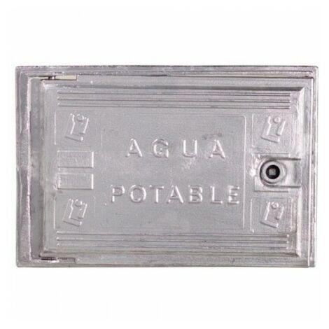 Puerta contador agua aluminio 300x400