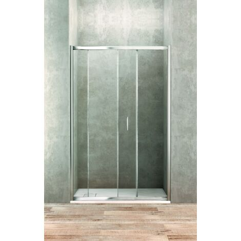 Puerta corredera 120 cm cristal transparente Ponsi Gold BBGOLTPS12   120 cm (118-122)