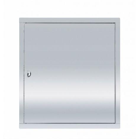 Puerta de acceso de acero inoxidable 60x60 con pes