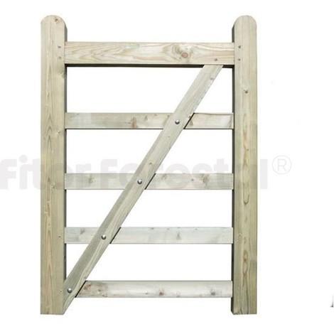 Puerta de campo para hípicas y fincas 90x135cm