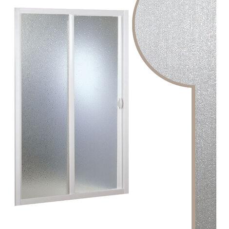 Puerta de Ducha 100 CM de Acrílico mod. Smart con Apertura Lateral
