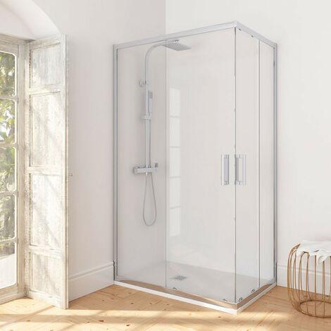 Puerta de ducha con acceso en esquina Manhattan