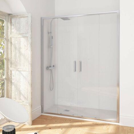 Puerta de ducha corredera de una puerta Manhattan
