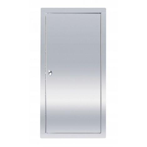 Puerta de inspección de acero inoxidable 30x60 con