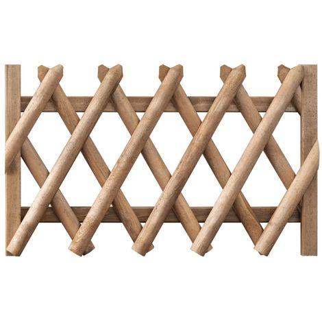 Puerta de jardin de madera de pino impregnada FSC 100x60 cm