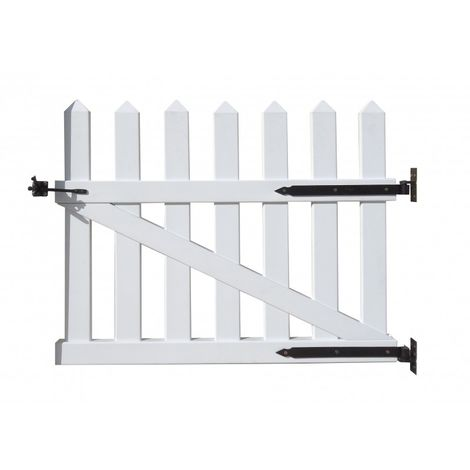 Puerta de PVC de Duramax (Puerta + Resbalón cierre + Refuerzo acero).