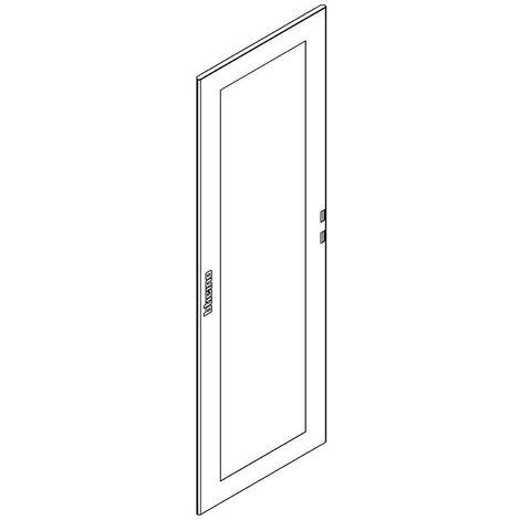Puerta de vidrio Bticino MAS para los gabinetes de piso HDX 850X2000 91865/80VR2