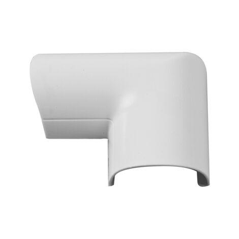 puerta del canal esquina Chacon D-Line 30x15mm Blanco - 2 piezas