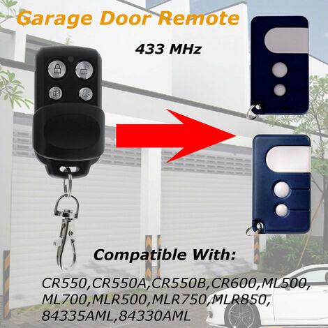 Puerta / garaje remota de repuesto de 433 MHz para Chamberlain / Motorlift 84335 AML