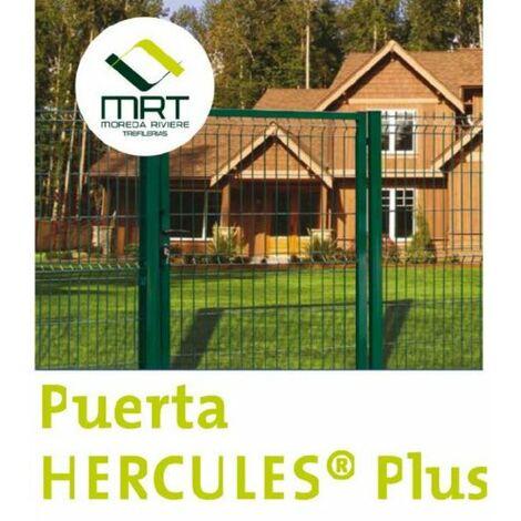 PUERTA HERCULES VERDE PEATONAL 1X1,5