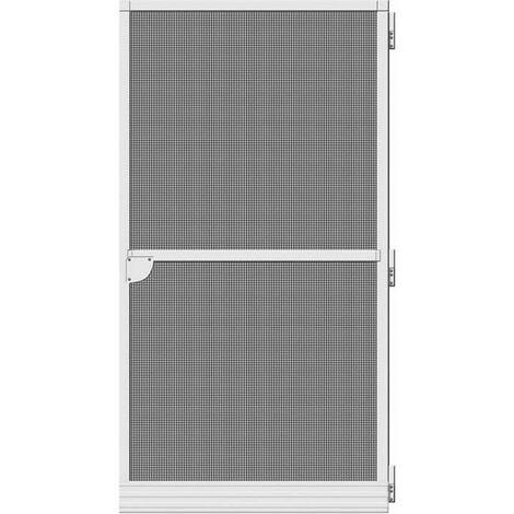 Puerta mosquitera abatible basic blanco 100x210cm EDM 75882