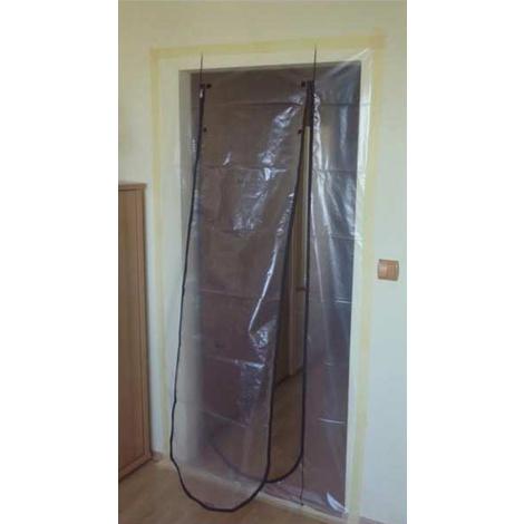 Puerta Plastico C/cremallera - NERPEL - 6000 - 110X210 CM