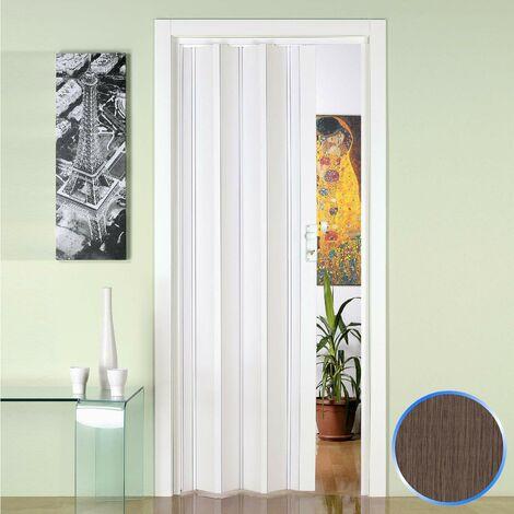 Puerta plegable de interior de PVC mod. Luciana
