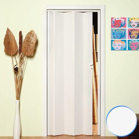 Puerta plegable de interior de PVC mod. Maya
