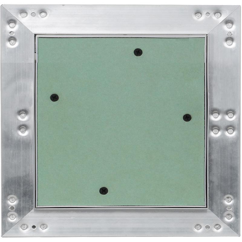 Puerta revisi/ón Trampilla inspecci/ón marco aluminio 60x60cm Panel acceso Yeso 12,5 mm Techo Pared