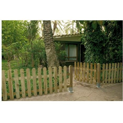 """main image of """"Puerta valla clasica madera 100x100 cm"""""""