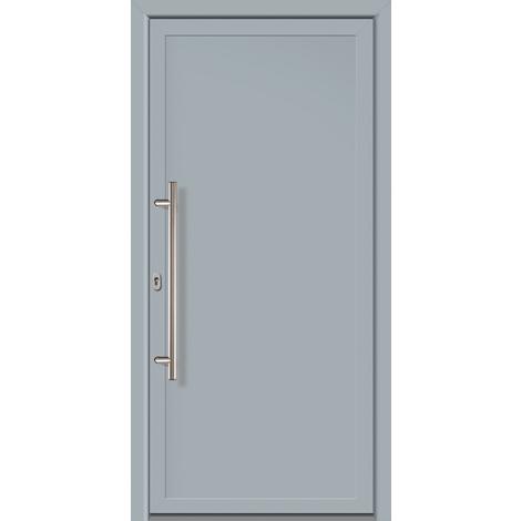 Puertas de casa exclusivo modelo 801 dentro: blanco, fuera: gris