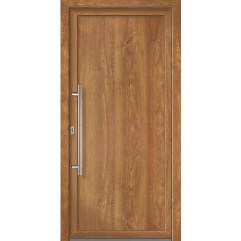 Puertas de casa exclusivo modelo 801 dentro: golden oak, fuera: golden oak