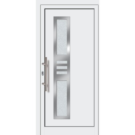 Puertas de casa exclusivo modelo 853 dentro: blanco, fuera: blanco