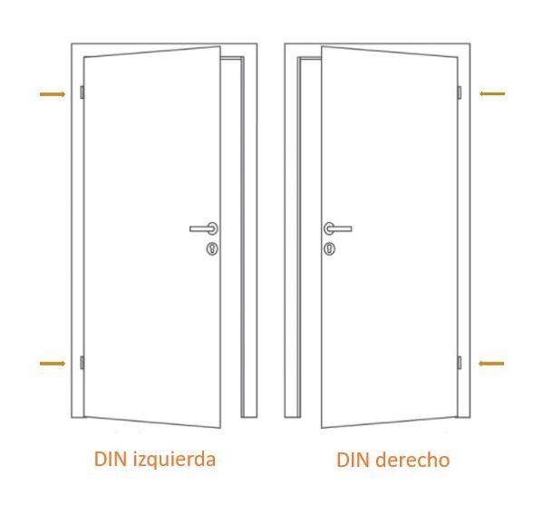 Puertas De Casa Exclusivo Modelo 853 Dentro Blanco Fuera Golden Oak