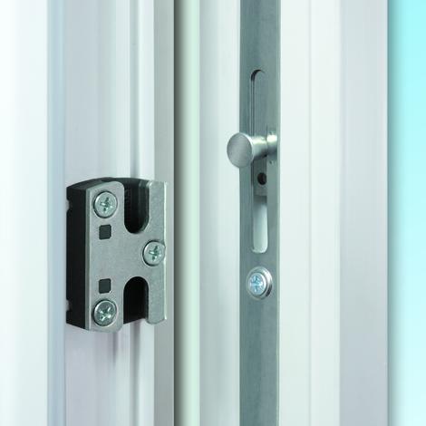 Puertas de casa exclusivo modelo 892 dentro: blanco, fuera: gris