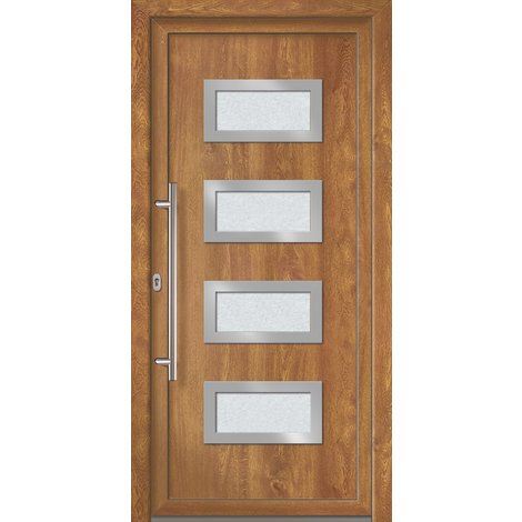 Puertas de casa exclusivo modelo 892 dentro: golden oak, fuera: golden oak