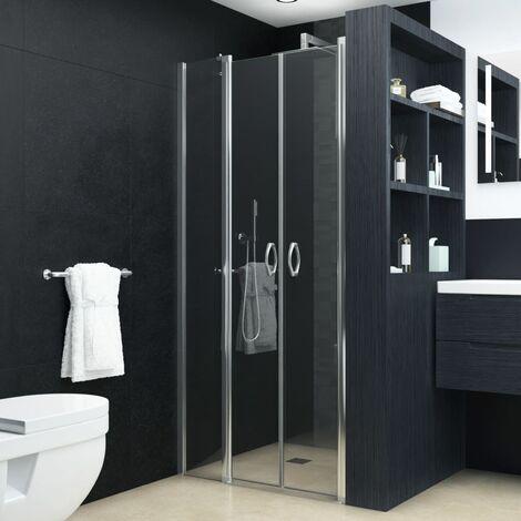 Puertas de ducha claras ESG 100x185 cm