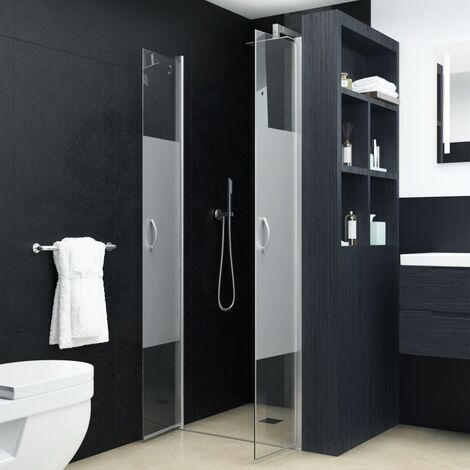 Puertas de ducha ESG medio esmerilado 75x185 cm