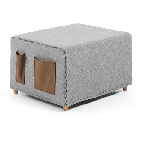 Puf cama Kos 70 x 60 (180) cm gris