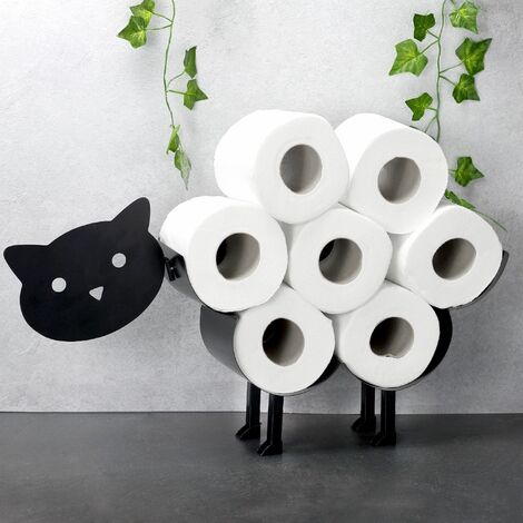 Pukkr Cat Toilet Roll Holder