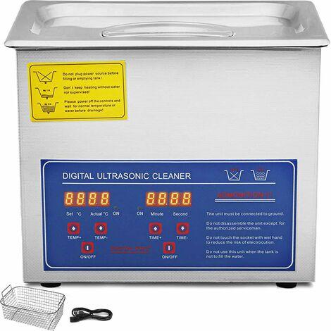 """main image of """"Pulitore Ad Ultrasuoni 220w Acciaio Inox Lavatrici Ultrasuoni Dispositivo 3l"""""""