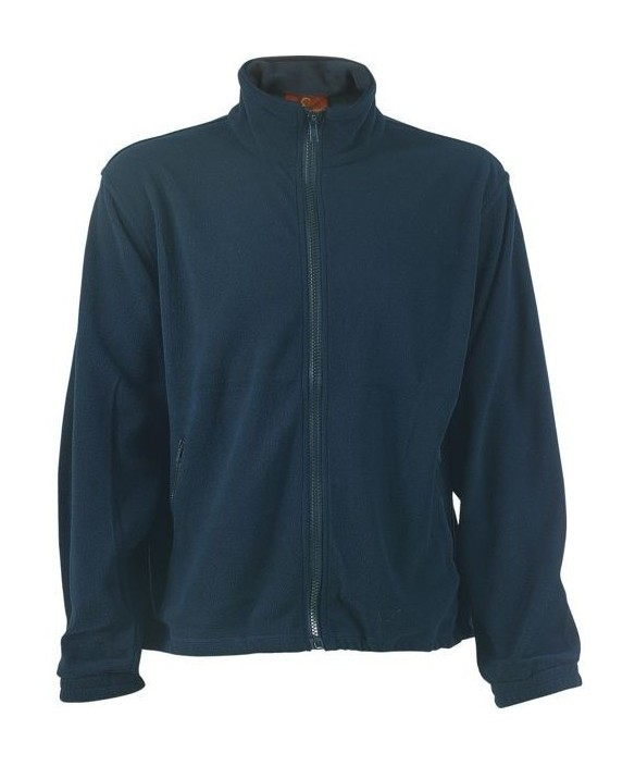 Coverguard Sales(euro Protection) - Pull polaire polyester 100 % 340 grs bleu taille xxl
