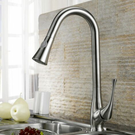 Pull-out mixer tap