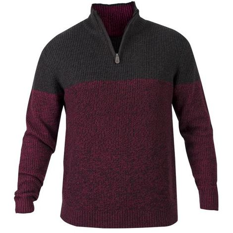 Pull-over à col camionneur - Taille L