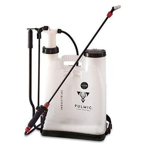 Pulmic 7841 Pulverizador hidráulico manual para aplicación de productos químicos, Blanco y negro